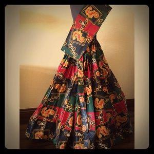 Dresses & Skirts - Wax Print Flared Skirt
